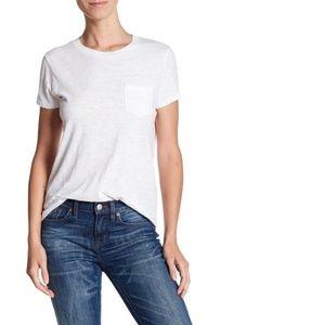 Madewell Crew Neck Tee T-Shirt White Large